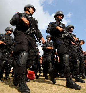 Rough justice: Indonesia's police force has hampered investigations into its top brass by arresting anti-corruption ...