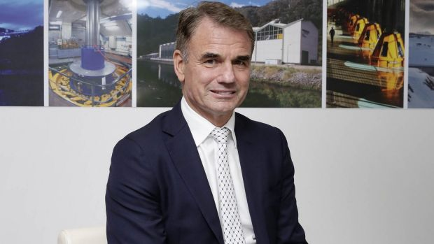 Snowy Hydro's Paul Broad is done with acquisitions for now.