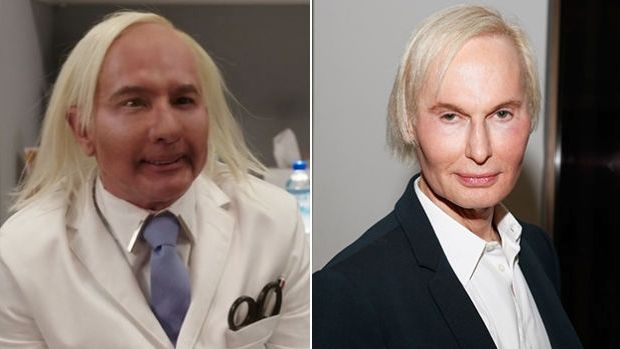 Dr Fredric Brandt drew unkind comparisons with 'Dr Grant', a character from Tina Fey's online comedy <i>Unbreakable ...