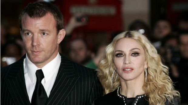 All for love ...  Guy Ritchie and  Madonna.
