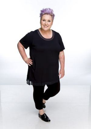 Comedian and <i>The Project</i> co-host Meshel Laurie.