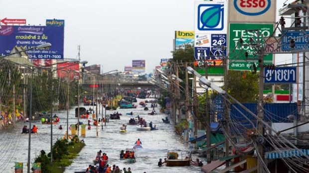 Fresh warning ... Thailand told to prepare for further flooding.