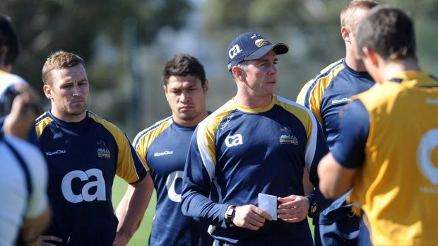 Familar face: Andy Friend recruited Henry Speight to the Brumbies for the 2011 season. Friend was sacked two games into ...