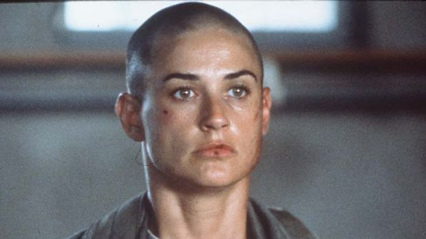Flop ... the Disney Corporation appeared reluctant even to release the film GI Jane, starring Demi Moore.