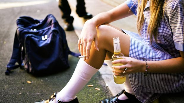 Drinking and smoking are on the decrease among Australian teens.