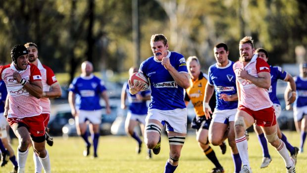 Festive break: Tom Cusack will spend Christmas with his family in Canberra before returning to Australian sevens ...