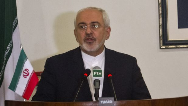 """Visiting """"No desire"""" to escalate tensions further: Mohammad Javad Zarif."""