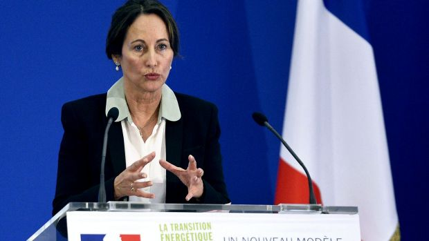 France's Ecology Minister Segolene Royal