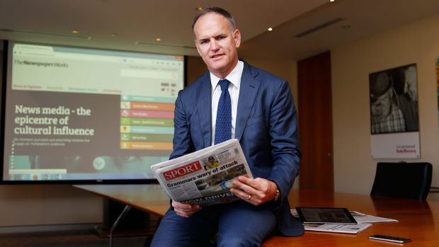 APN chief executive Michael Miller ... 'I would anticipate that we are going to see very different newspapers, very ...