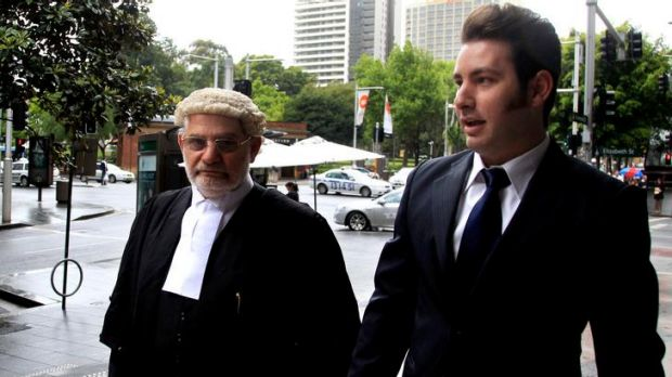 John Busuttil, photographed with his barrister father Joe, has spent about $60,000 to get off a speeding fine.