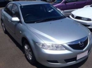 The vehicle Julie Hutchinson may have been driving, a 2004 silver, Mazda6 sedan with Queensland registration 622-HZE.