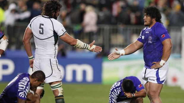 Fallout ... Samoan players have accused management of having a culture of alcohol.