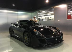 Wheel Collector: Melbourne Ferrari Enthusiast Tony Defelice With One Of His  Beloved Ferraris (a