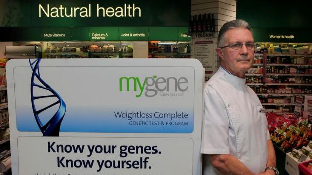 Toorak pharmacist John Button stands by MyGene.