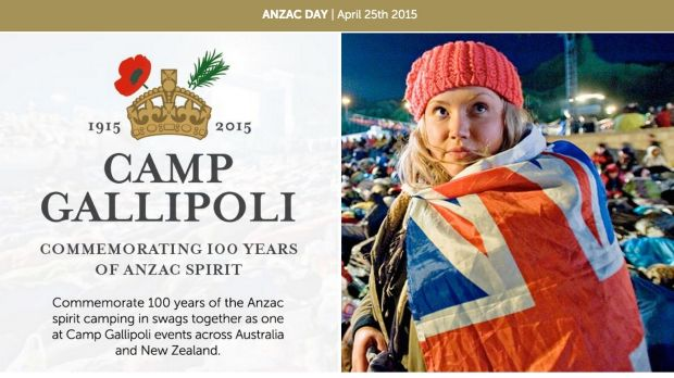 The camp being promoted by a number of companies across Australia.