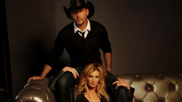 Tim McGraw and Faith Hill are preparing for next year's Australian tour.
