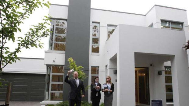 Insiders speculated that Prime Minister Julia Gillard sought to buy this mansion in Griffith, Canberra.