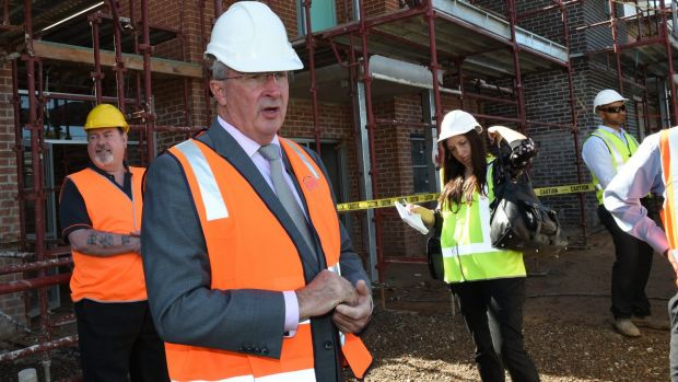 Family and Community Services Minister Brad Hazzard is prioritising affordable housing.