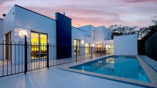 A promotional shot of the Griffith property, taken from the estate agent's website.