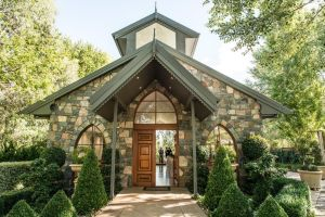 The Gold Creek Chapel in Nicholls hosted 155 of the ACT's 1544 weddings last year.