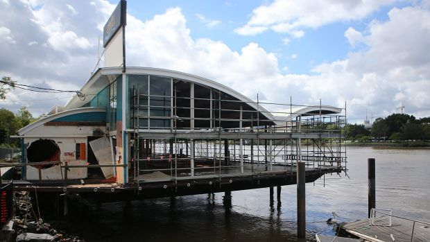 Restoration continues on Drift Cafe site.