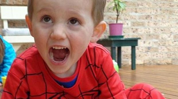 William Tyrrell was dressed like Spiderman the last time he was seen.