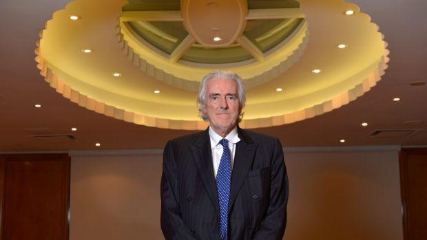 Village Roadshow's Graham Burke ... seen by Hollywood as its champion.
