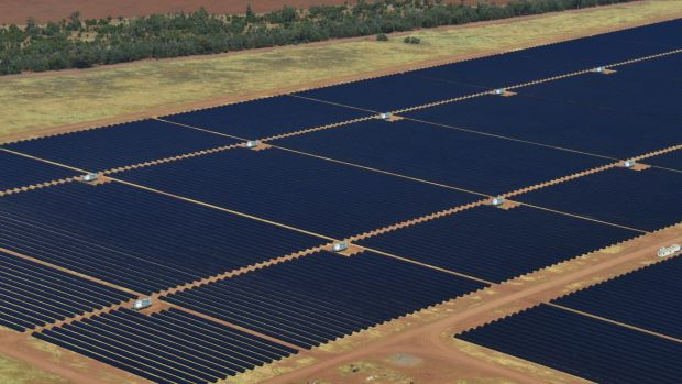 AGL's Nyngan solar plant near Dubbo, NSW, has already secured government funding.