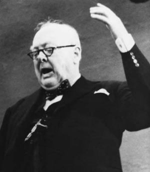 A prolific source of words ... Sir Winston Churchill is credited with inventing the terms out-tray, social security and ...