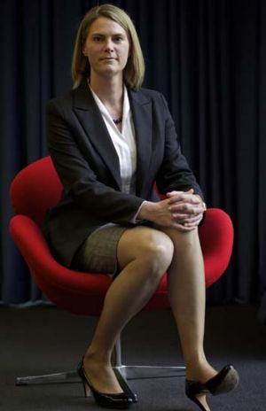 Executive life ... Maile Carnegie worked her way to P&G's top job.