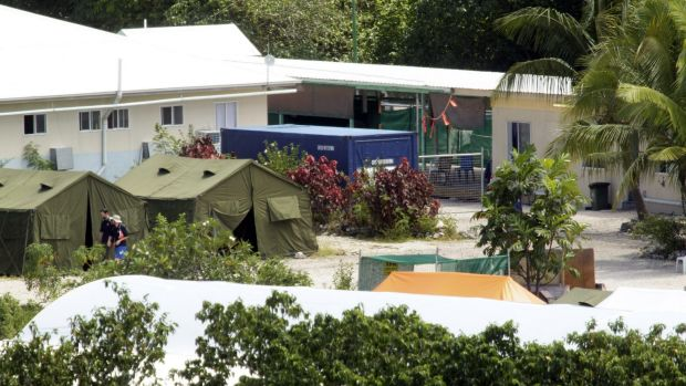 The Nauru detention centre, as pictured in 2012.