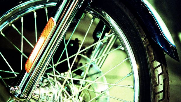 A 31-year-old rider collided with a car at Slacks Creek on New Year's Eve.