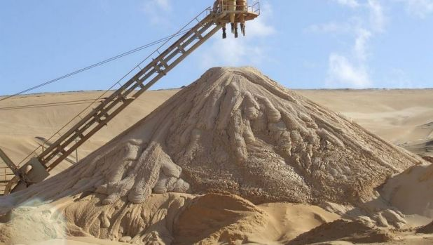 North Stradbroke Island mining company Sibelco has been acquitted of two charges of taking and selling sand without ...