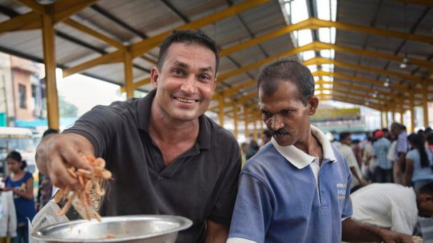 Flying Fish chef Peter Kuruvita gets in touch with locals and their produce in <i>My Sri Lanka</i>.