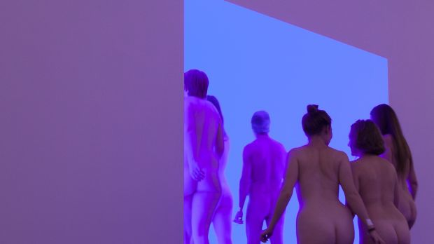 Exhibitionists: A naked art tour of <i>James Turrell: a Retrospective</i> at the National Gallery of Australia.