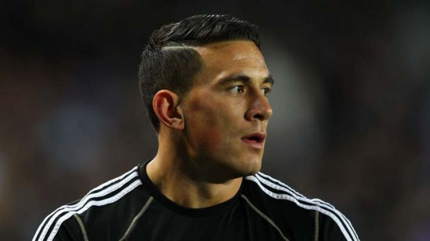 Switching sides ... Sonny Bill Williams.