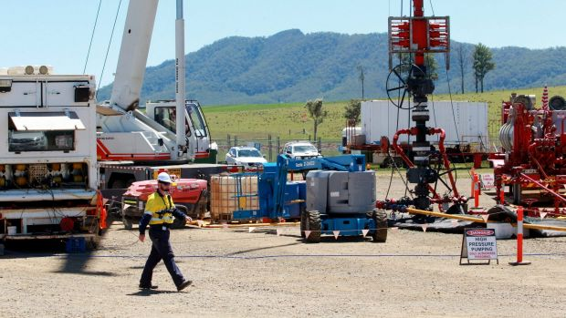 The Queensland government has released land for gas exploration which can only be used for domestic use.