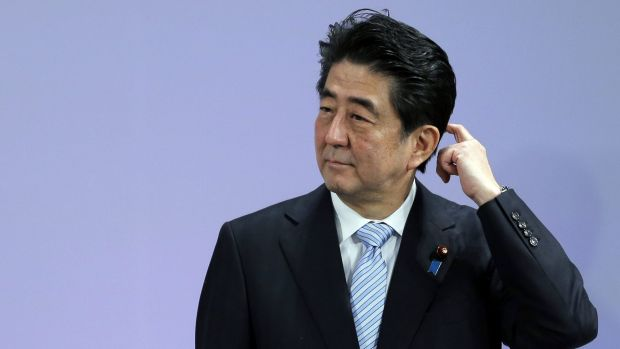 Awkward: Most Australians don't know Japanese Prime Minister Shinzo Abe.