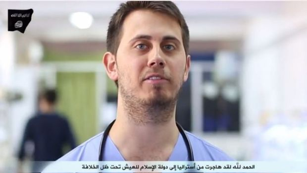 Australian doctor Tareq Kamleh appeared in the same video, spruiking Islamic State's health service.