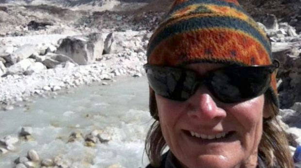 Angela Macdonald-Smith, in happier times in Nepal.
