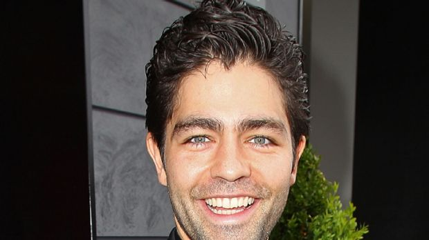 Photo finish ... Lavazza secures Adrian Grenier at the last minute.