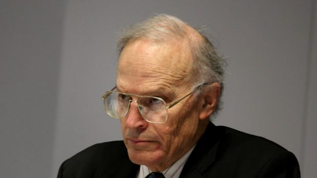 Justice Heydon at the royal commission.