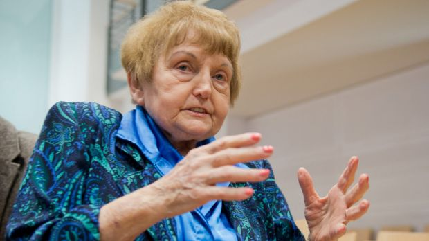 """Auschwitz survivor Eva Mozes Kor: """"You cannot predict what will happen when someone from the victims' side and someone ..."""