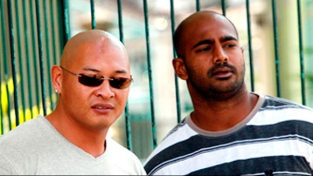 Final hours ... Andrew Chan and Myuran Sukumaran were full of life, supporting their fellow death row inmates and ...