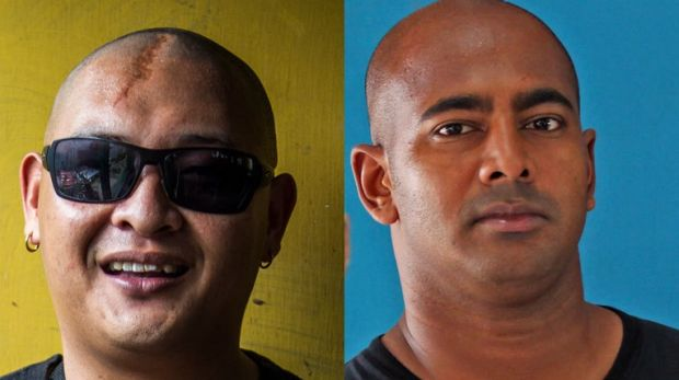 Executed: Andrew Chan and Myuran Sukumaran were put to death in Indonesia.