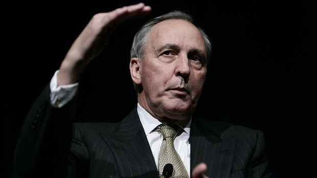 'A Punch and Judy show' ... former prime minister Paul Keating says he wouldn't be caught dead on the ABC's <i>Q&A</i> ...