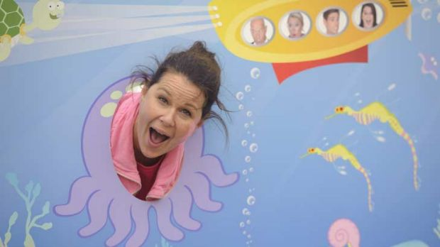 Julia Morris, project managing out of her depth.