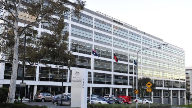 The Department of Immigration and Border Protection will remain in Belconnen.