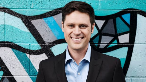 Sacked SBS presenter Scott McIntyre.