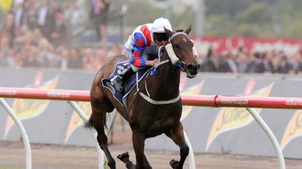 Mosheen, pictured winning the VRC Oaks, will be a favourite at Rosehill.